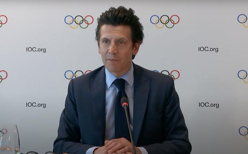 国际奥委会奥运会部执行主任克里斯托弗·杜比。