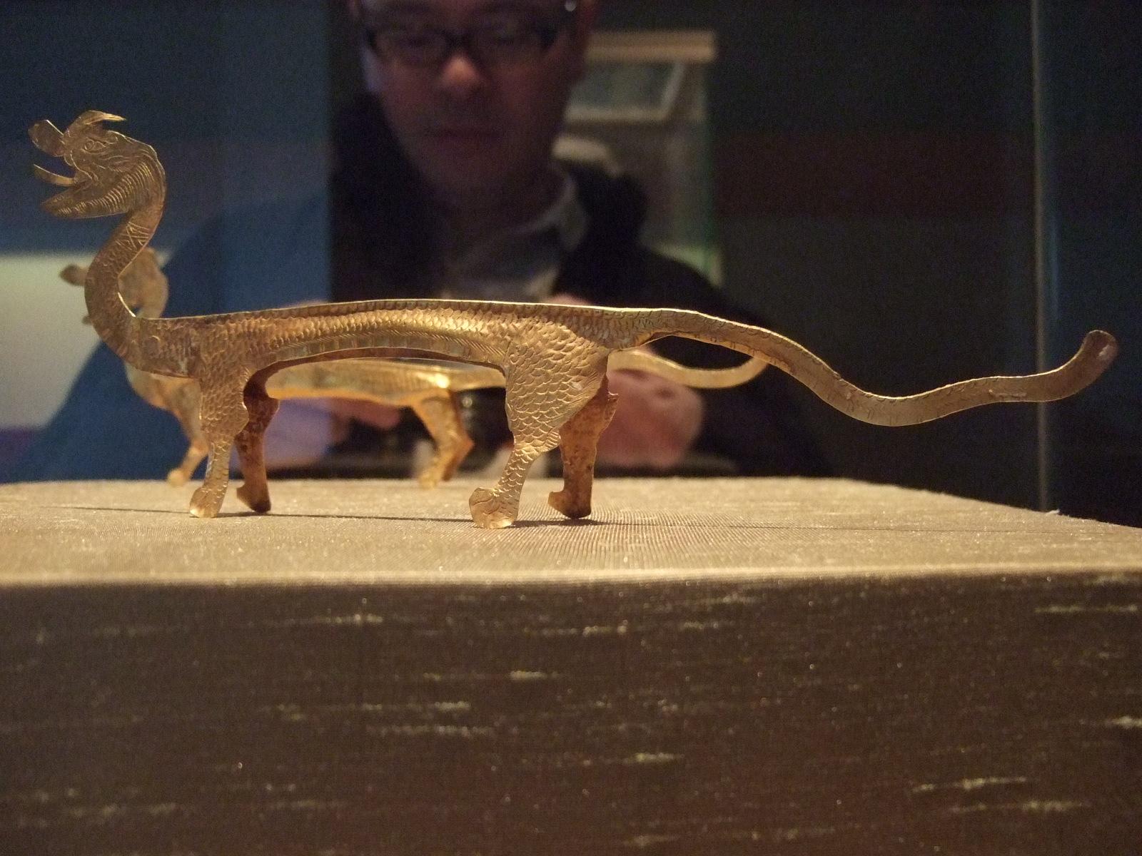 照片8 苏州市博物馆展出金龙