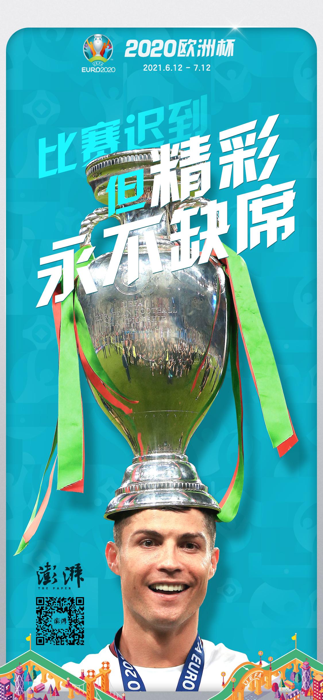 澎湃新闻欧洲杯海报。制图:白浪