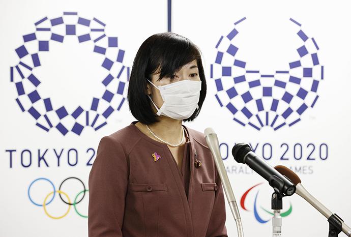 日本奥运大臣丸川珠代。人民视觉 资料图