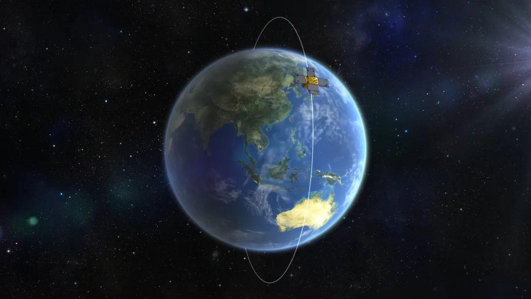海丝二号卫星模拟图