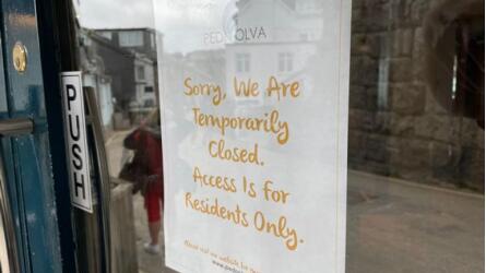 目前,Pedn Olva酒店已完全关闭。