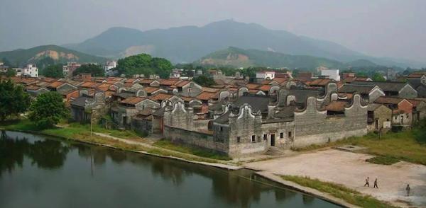 南粤古驿道边的村落