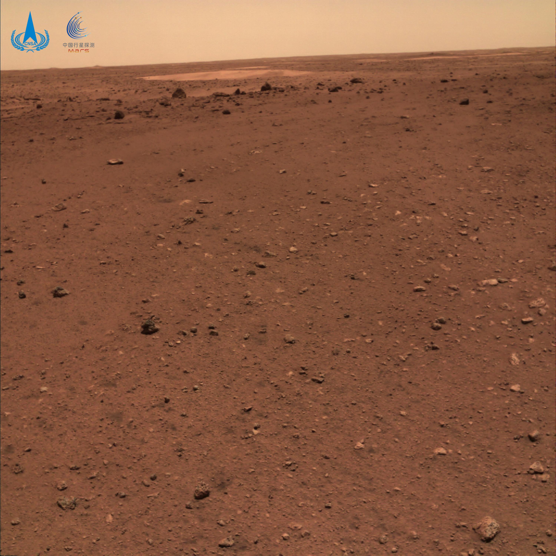 火星地形地貌图