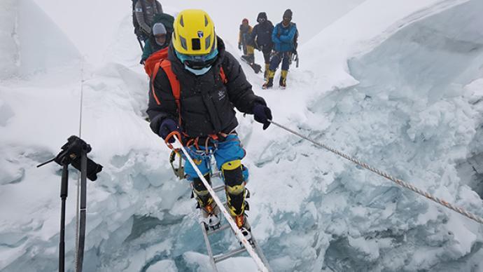 视障者张洪:登顶珠峰,让世界看见我