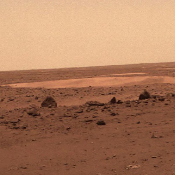 火星地形地貌图(局部)