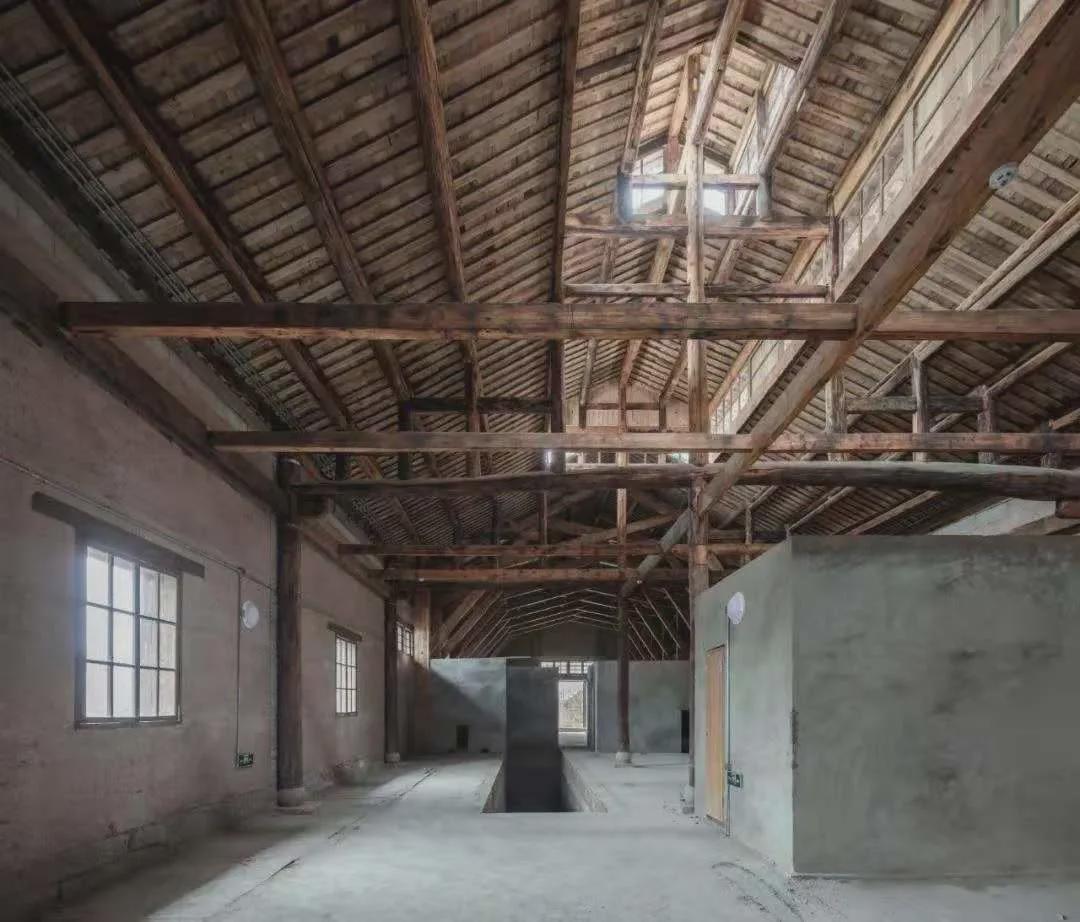 建筑内部新老结构并置