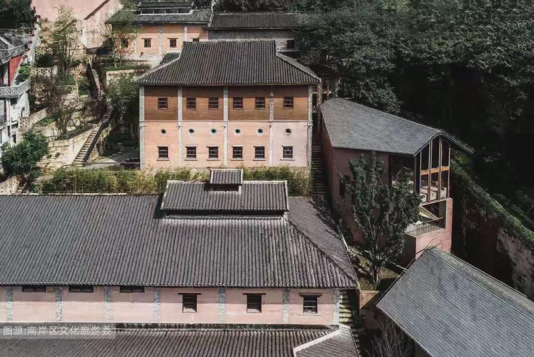 修缮后的故宫文物南迁纪念馆