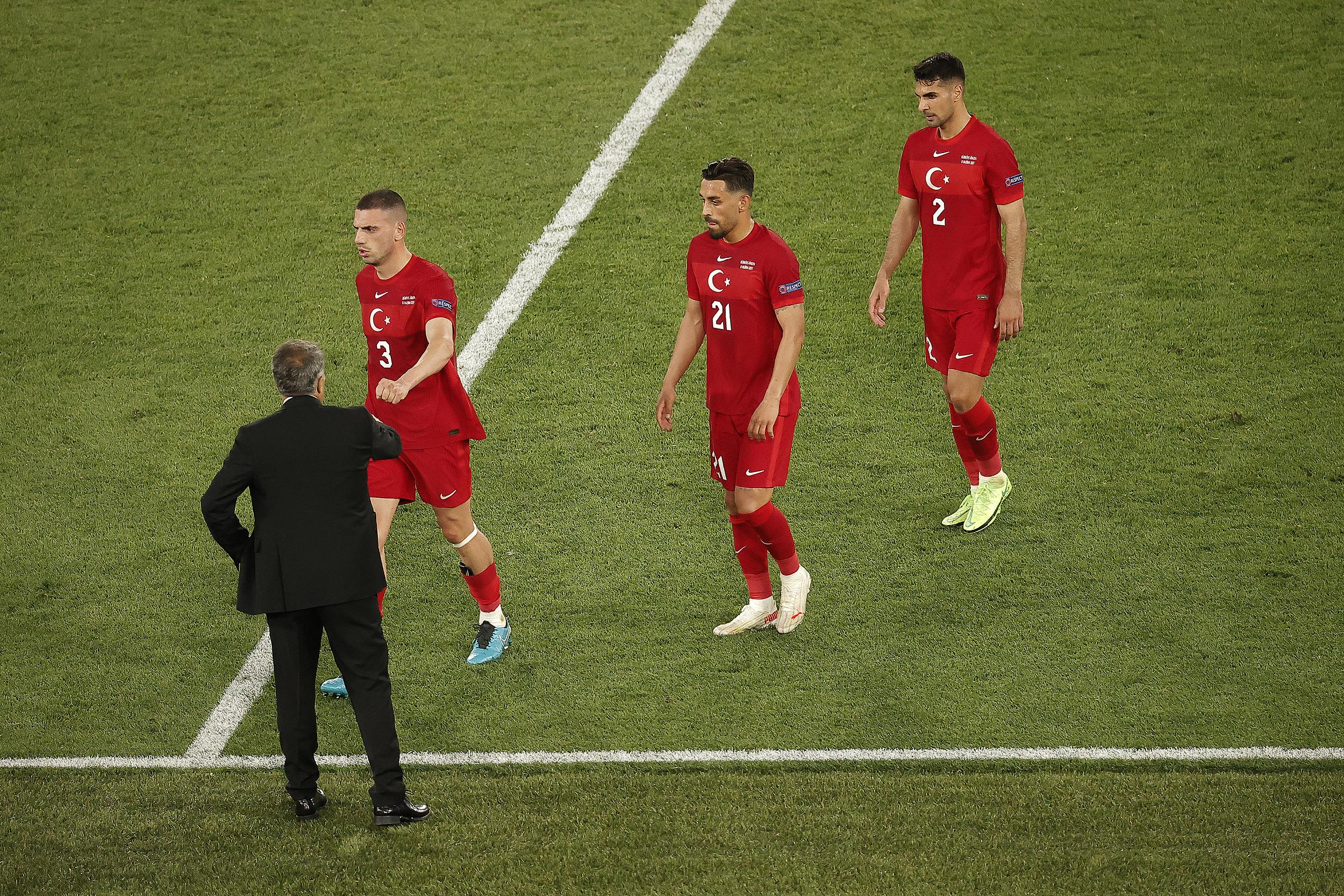 失落的土耳其球员。