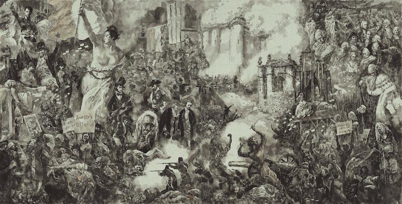 戴敦邦作品,《资本论》插图