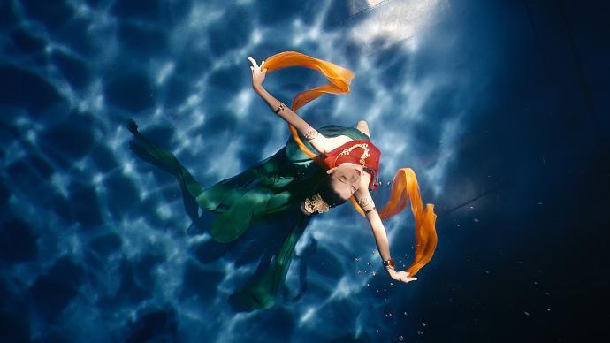 《洛神水赋》原来是在上海拍的,澎湃新闻专访神仙姊姊