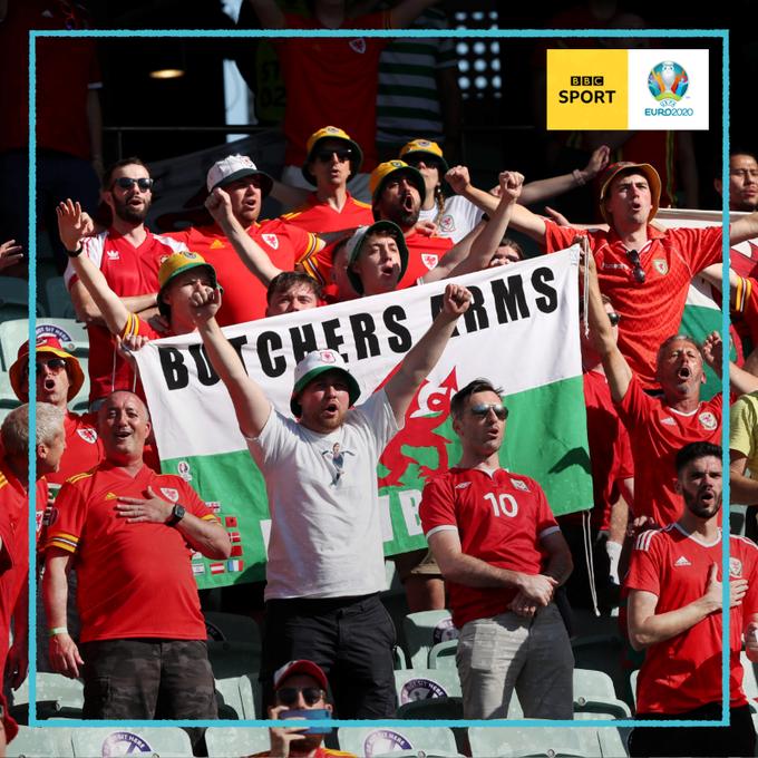 威尔士球迷制造了巨大的声浪。
