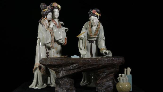 """""""百年百艺""""在闵行:看陶瓷、髹漆与雕刻之美"""
