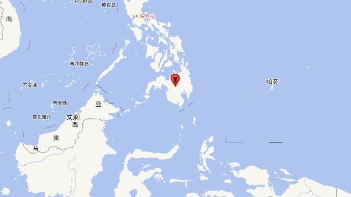 菲律宾棉兰老岛发生5.3级地震,震源深度10千米