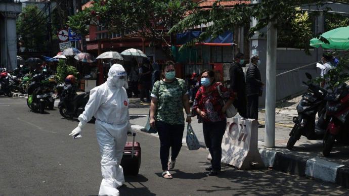 印尼连续6天日增确诊病例超7000例,公共活动限制令延长