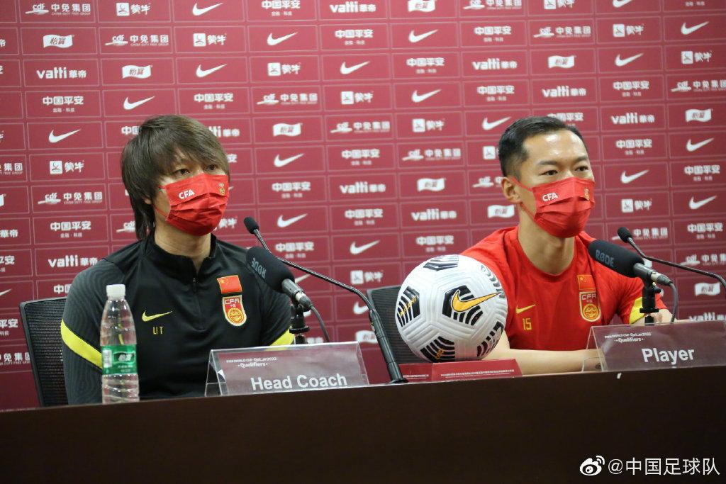 李铁(左)和吴曦出席发布会。
