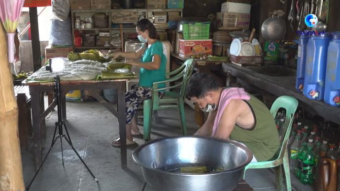解锁新知识,菲律宾版粽子也有甜咸之分
