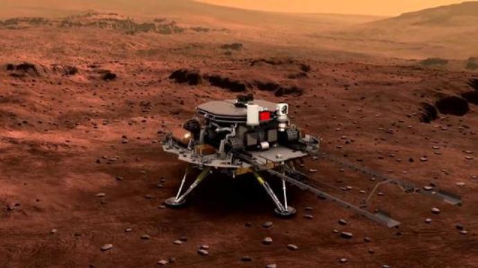 哈工大科研团队揭秘:天问一号的五星红旗在火星如何展开