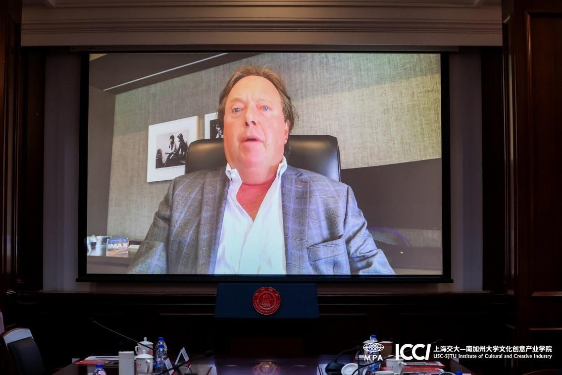 IMAX公司全球首席执行官理查德·葛尔方