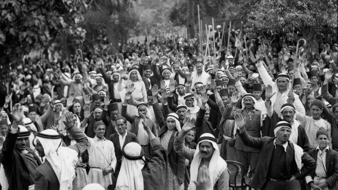 巴勒斯坦工运简史