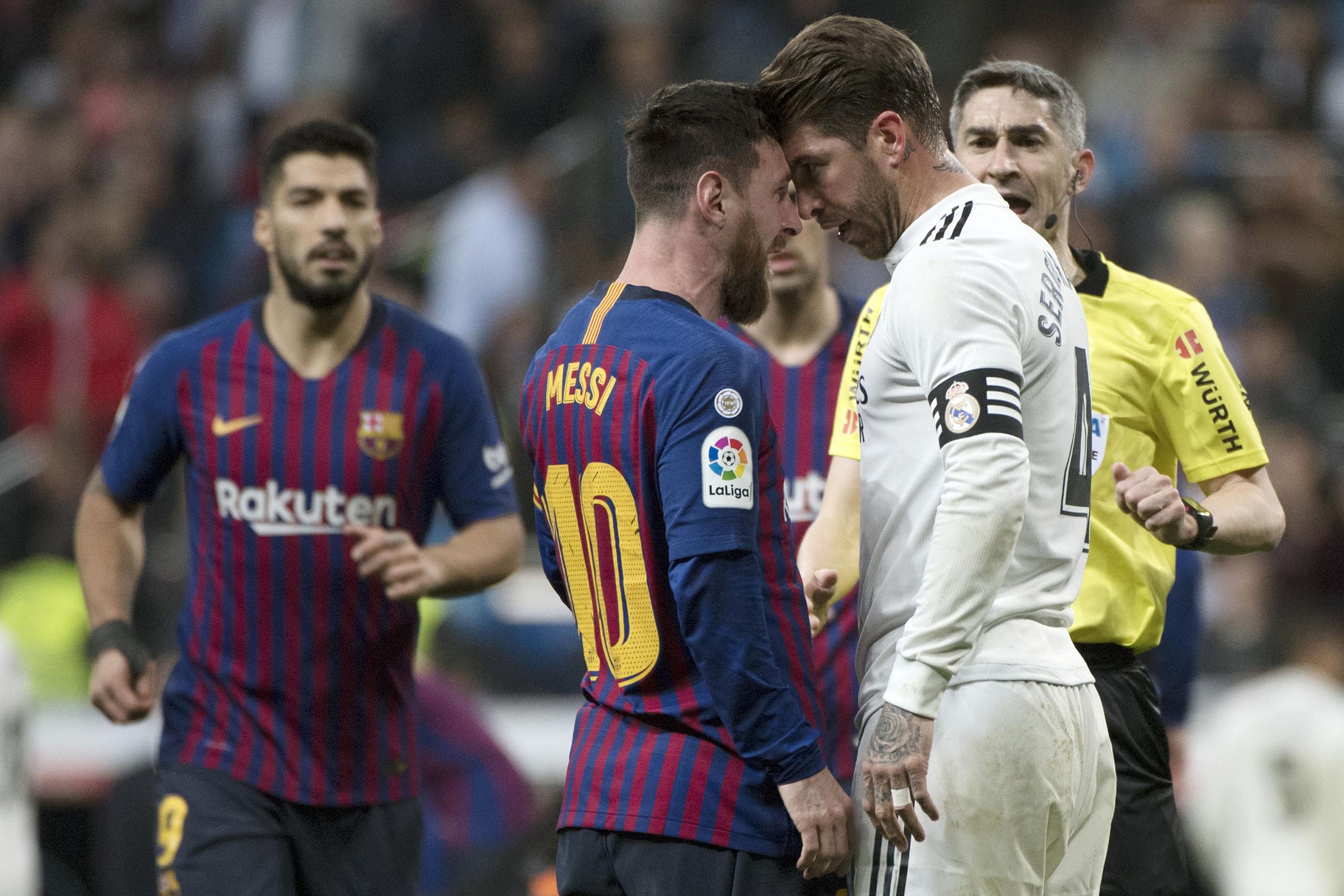 拉莫斯代表着马德里的强硬。