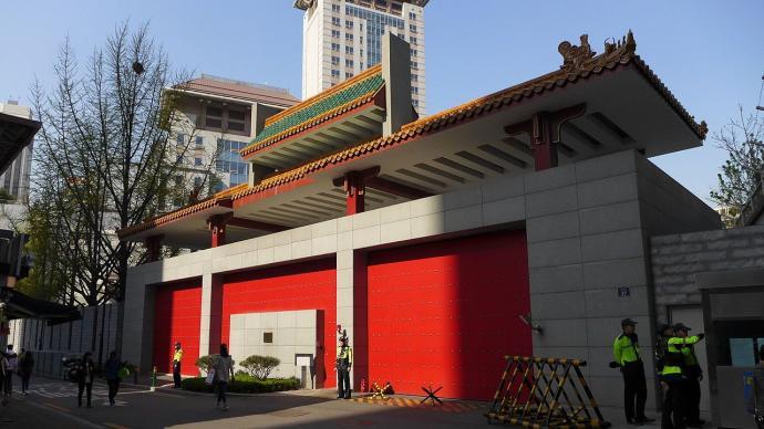 个别中国公民违反韩国防疫规定,中使馆:自觉维护良好形象