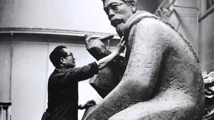 追忆钱绍武先生:他够得上中国现代雕塑的根基之石