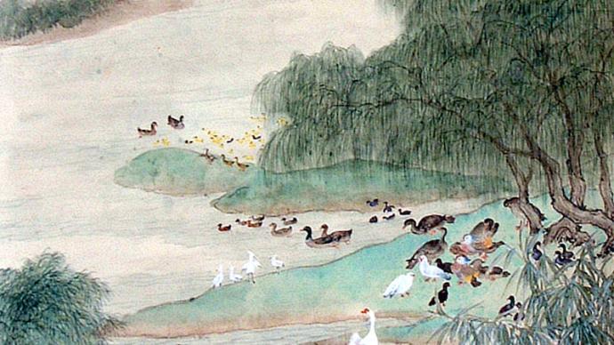 刘海粟吴湖帆笔下的那些公园——中国画里的上海公园
