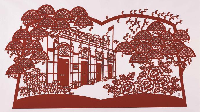 """""""江南之春""""展开幕,领略长三角的民俗美术作品之美"""