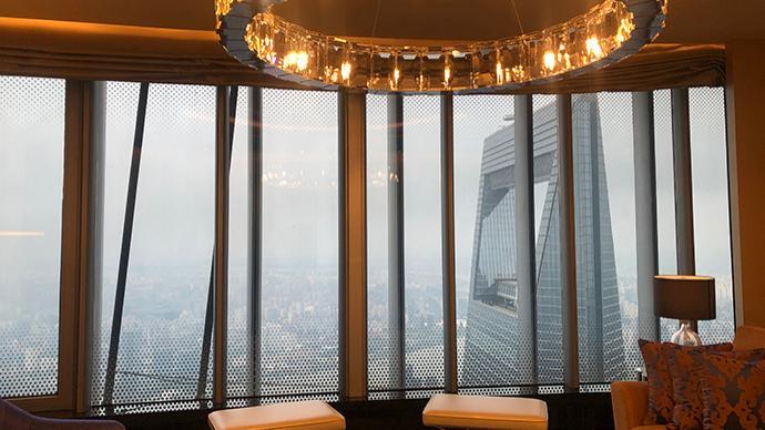 世界上垂直高度最高的酒店在上海开业,最高楼层超556米