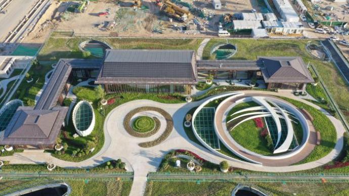雄安新区首座新建220千伏变电站投运,保障大规模开发建设