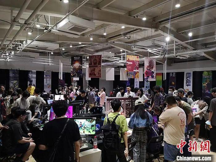 中国传媒大学游戏系毕业设计体验展。受访者供图