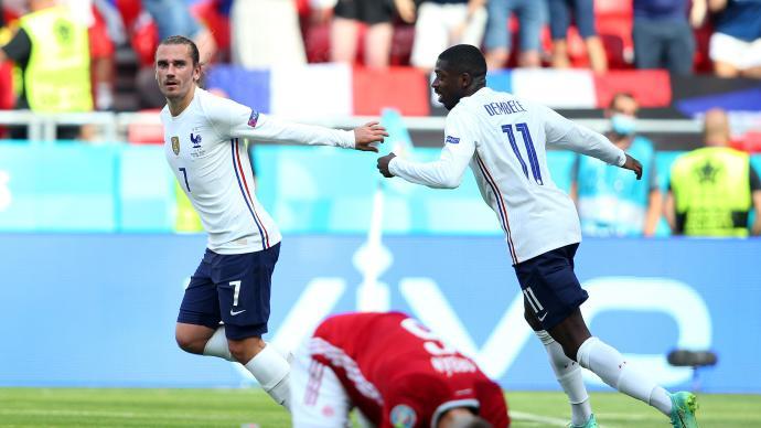 """不愧是""""死亡之组""""!法国1-1匈牙利,格里兹曼进球救主"""