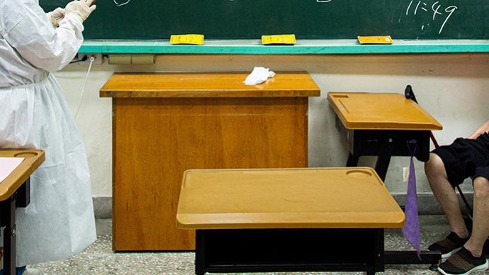 台湾600名学生确诊新冠,其中幼儿园66人