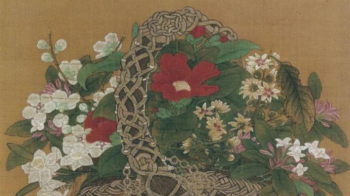 静物画源起中国?从卡拉瓦乔《水果篮》读到李嵩《花篮图》