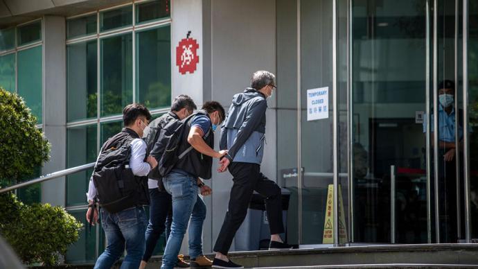 林郑月娥:对《苹果日报》相关人员和机构采取行动是依法办事