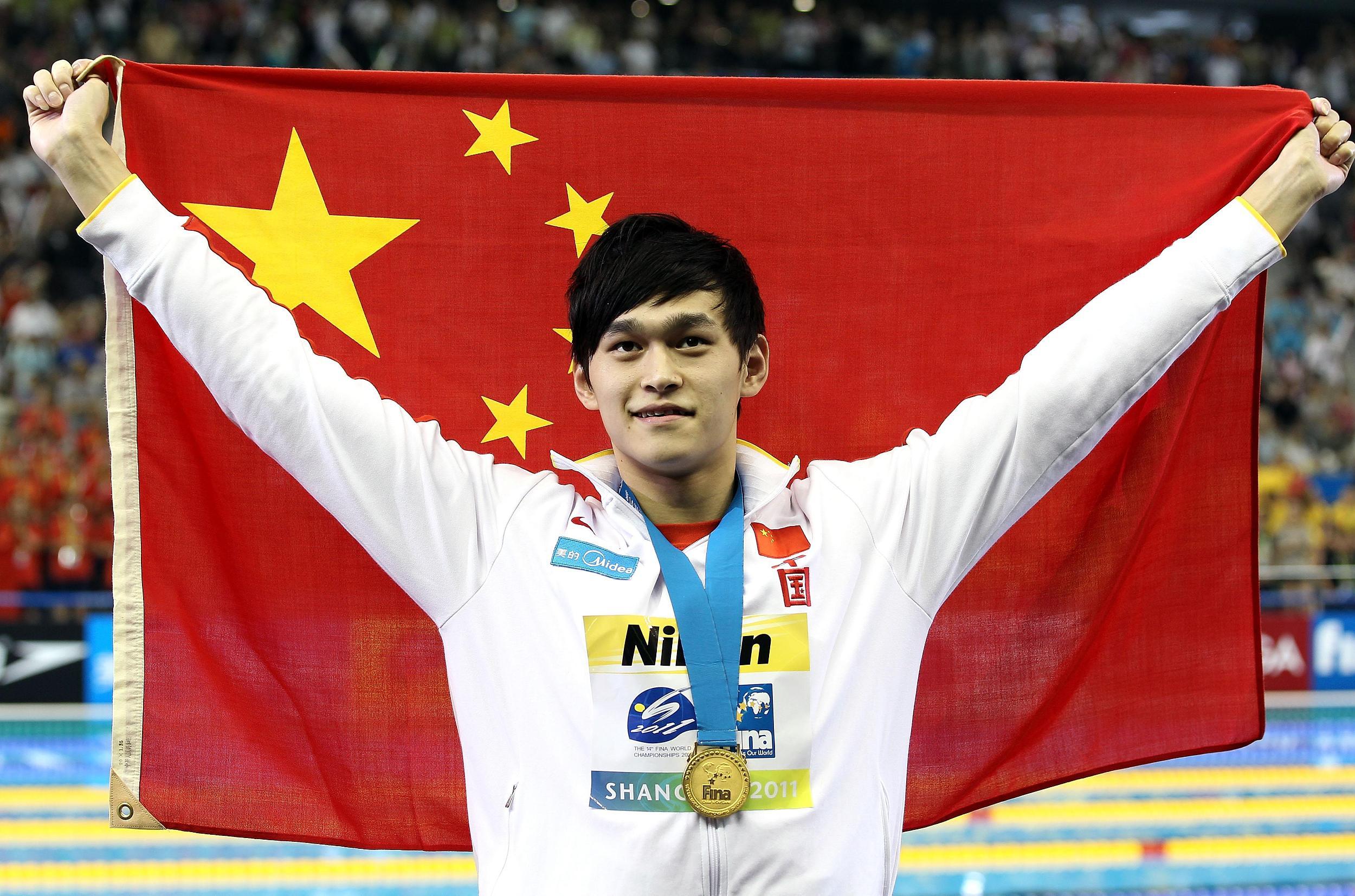 2011年上海世游赛,孙杨震惊世界。