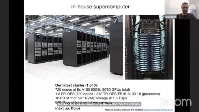 特斯拉高管披露最新超级计算机雏形,有望问鼎世界第一?