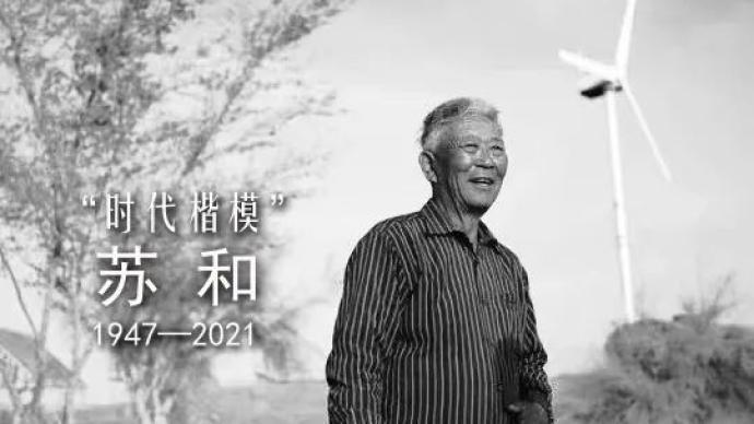 """""""时代楷模""""苏和逝世,提前两年退休回乡在沙漠中义务植树"""