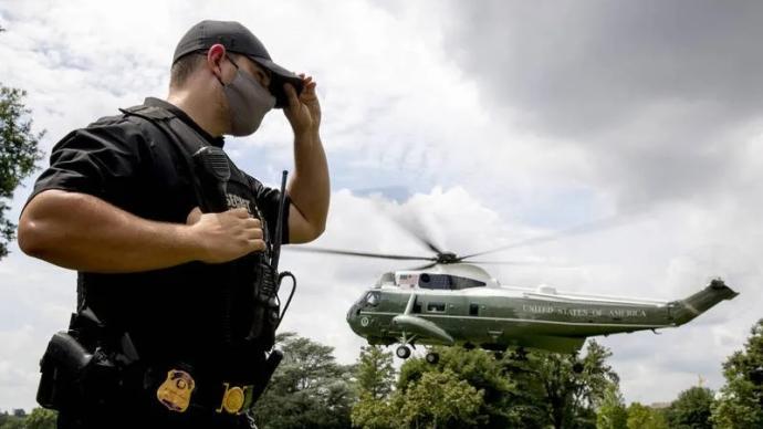 美国特勤局已有近900名员工感染新冠,超半数为特工