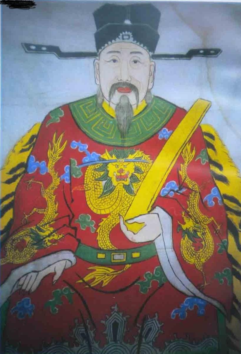 王十朋像(王氏后裔传承)