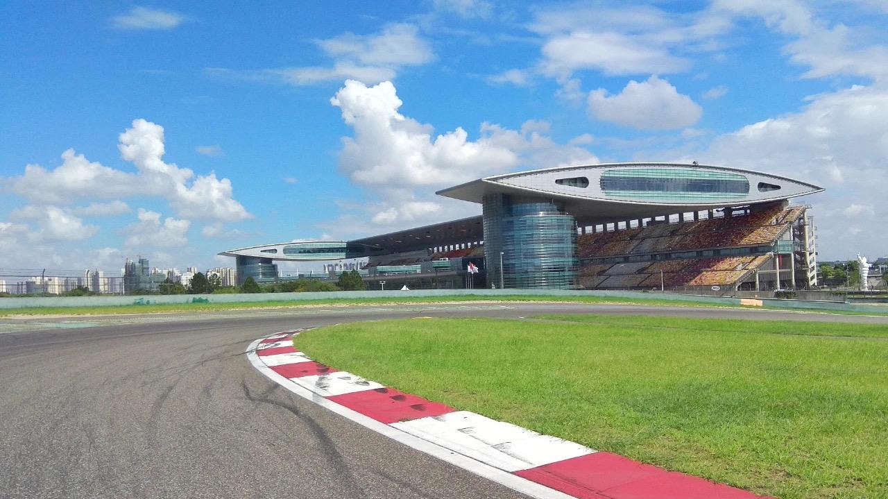 上海国际赛车场。