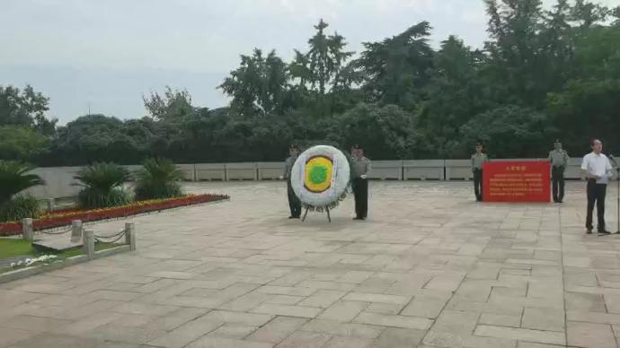初心之路巡展丨走进古都南京,在雨花台革命烈士陵园缅怀先烈