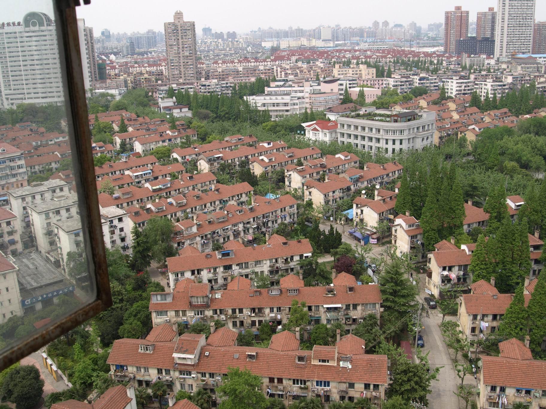 2009年,俯瞰曹杨一村。 杨辰 供图