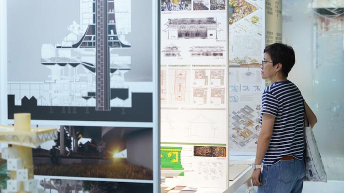 同济大学建筑本科毕业设计展聚焦城市再生