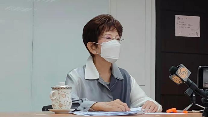 专访中国国民党前主席洪秀柱:民进党不尊重专业大搞政治防疫