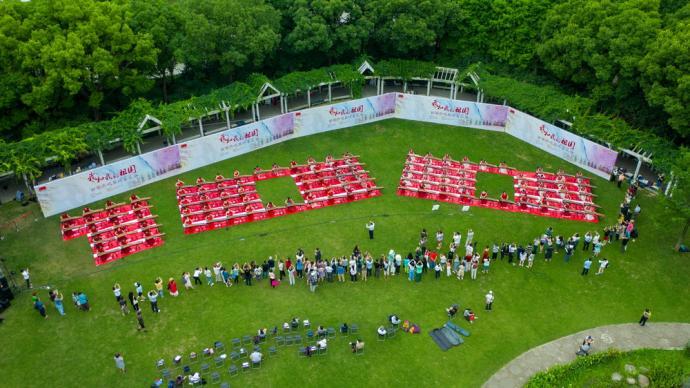 """庆祝党的生日,上海各界一起""""唱支山歌给党听"""""""
