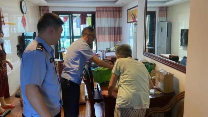 暖聞|杭州一派出所民警5年接力給獨居老人上門送餐