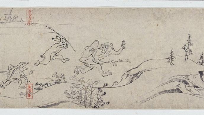 日本漫畫的前身——從日本江戶戲畫到明治時期的諷刺畫