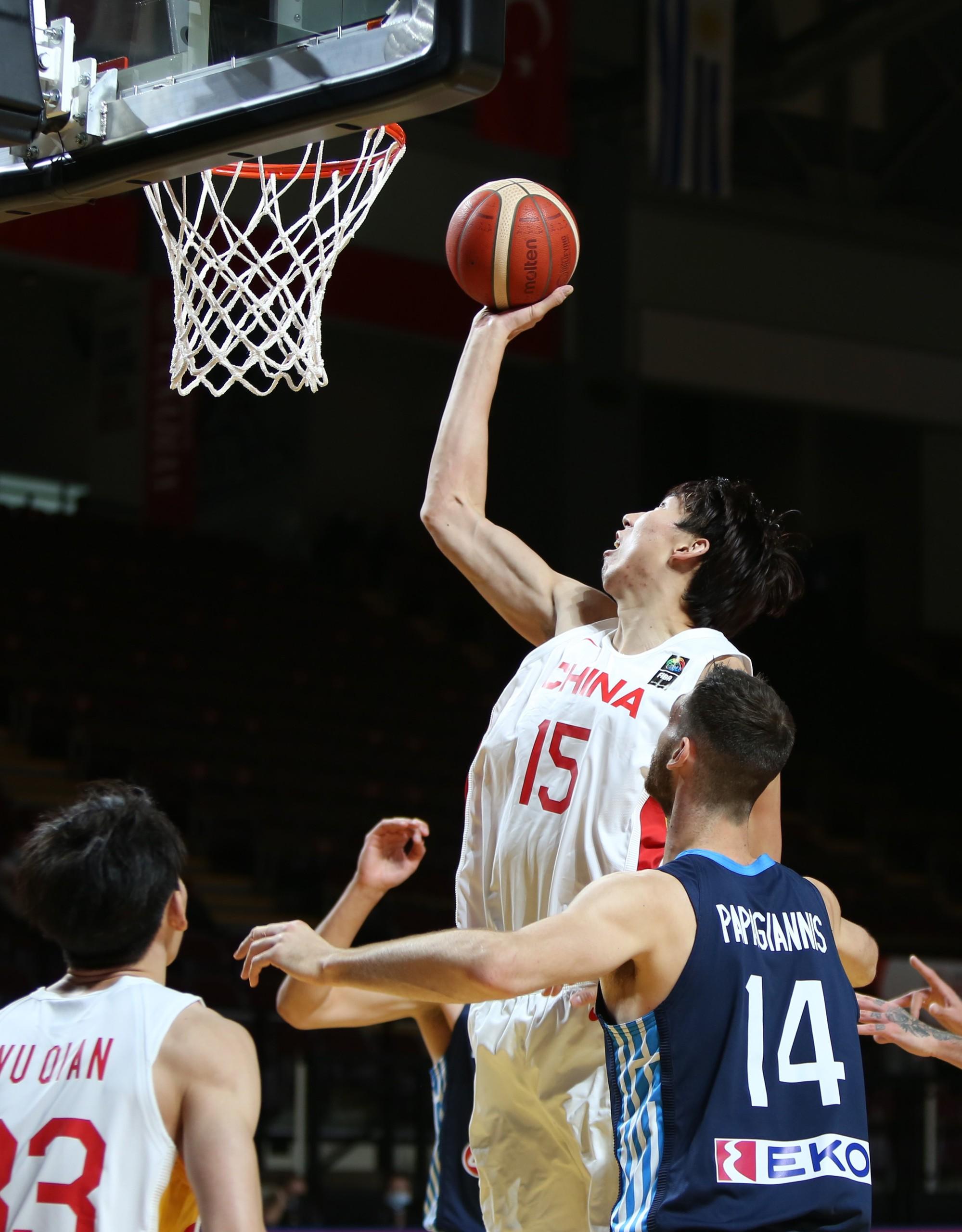 周琦還是中國男籃最穩定的得分點。